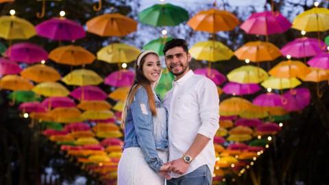Ensaio Pré Casamento Holambra | Larissa e Leonardo
